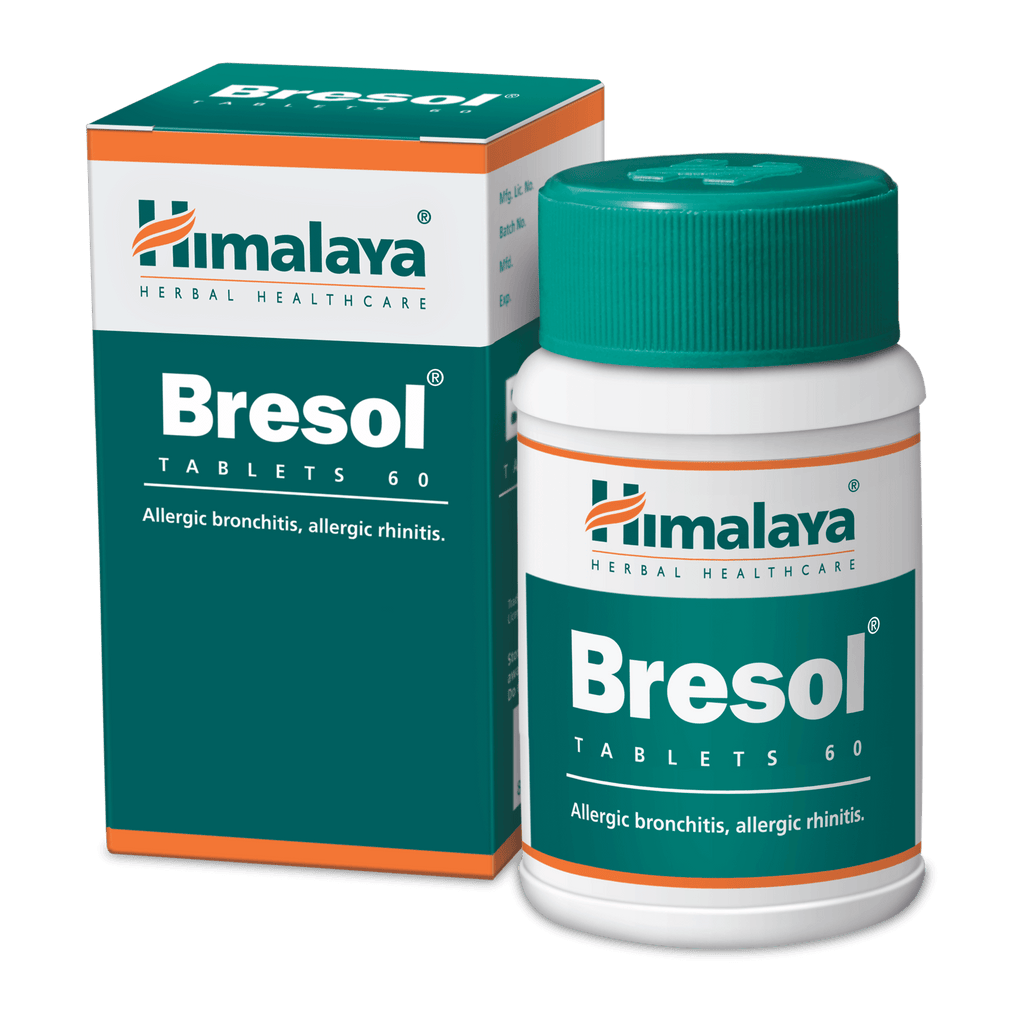 Himalaya Bresol - Tablets to fight respiratory diseases