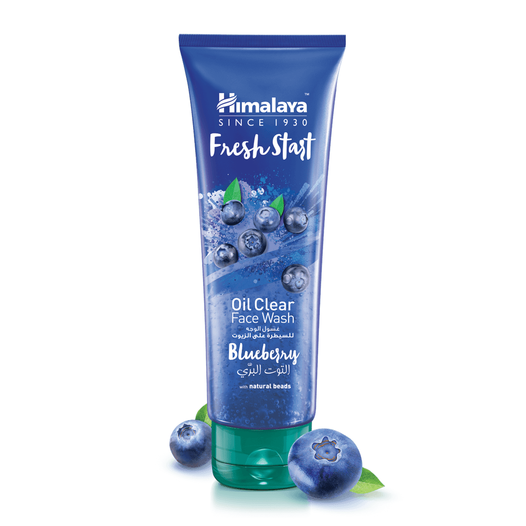 Himalaya Fresh Start Oil Clear Face Wash Blueberry 100ml - For Oil-free Skin