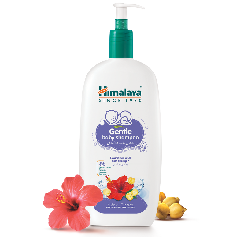 Himalaya Gentle Baby Shampoo 800ml With Pump Dispenser- Nourishes Hair