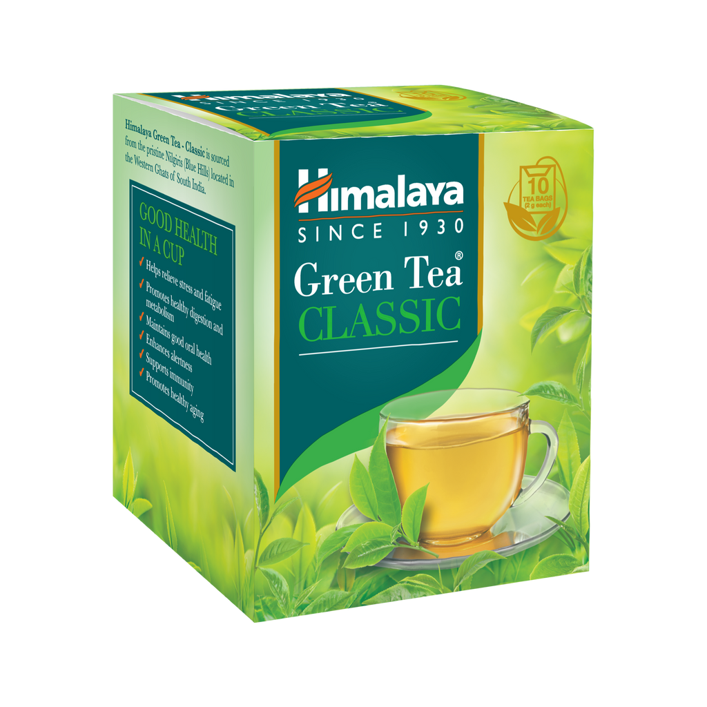 Himalaya Green Tea - Helps you tackle fatigue and detoxify the entire body