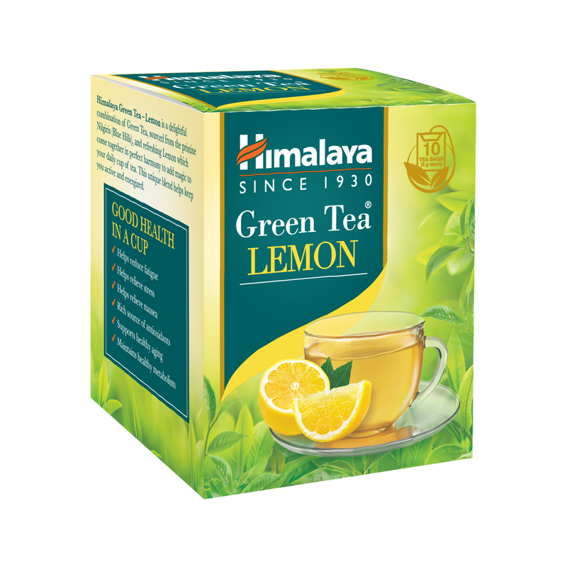 Himalaya Green Tea LEMON - Helps you stay active and energized
