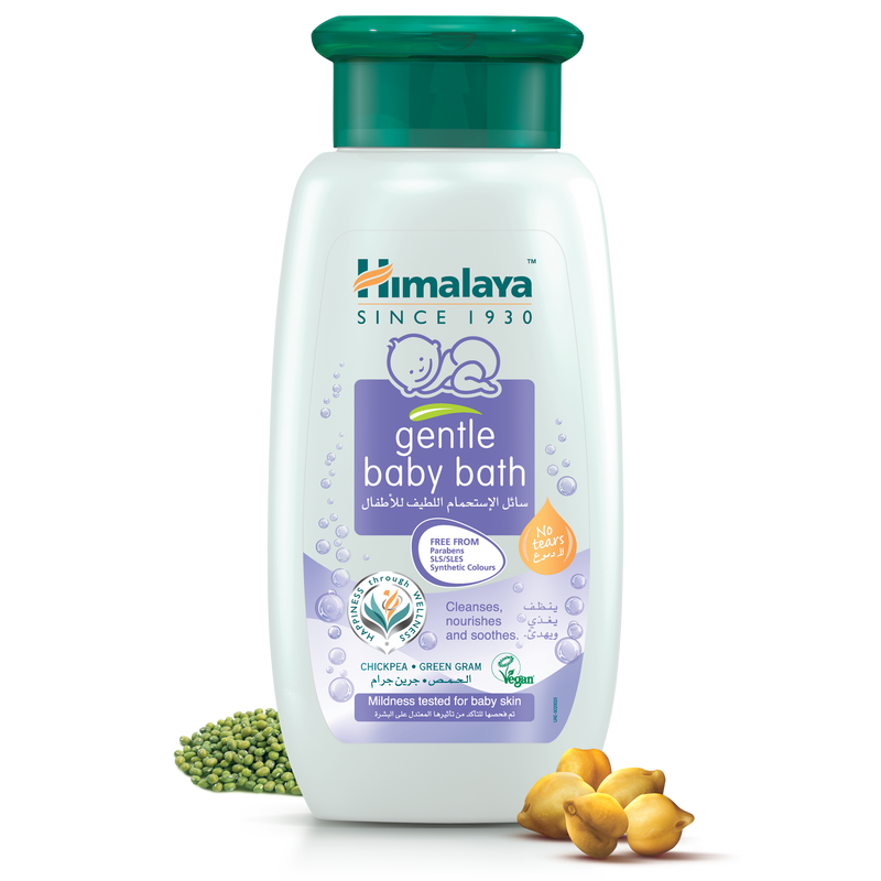 Himalaya Gentle Baby Bath 200ml - Cleanses, Nourishes, & Soothes