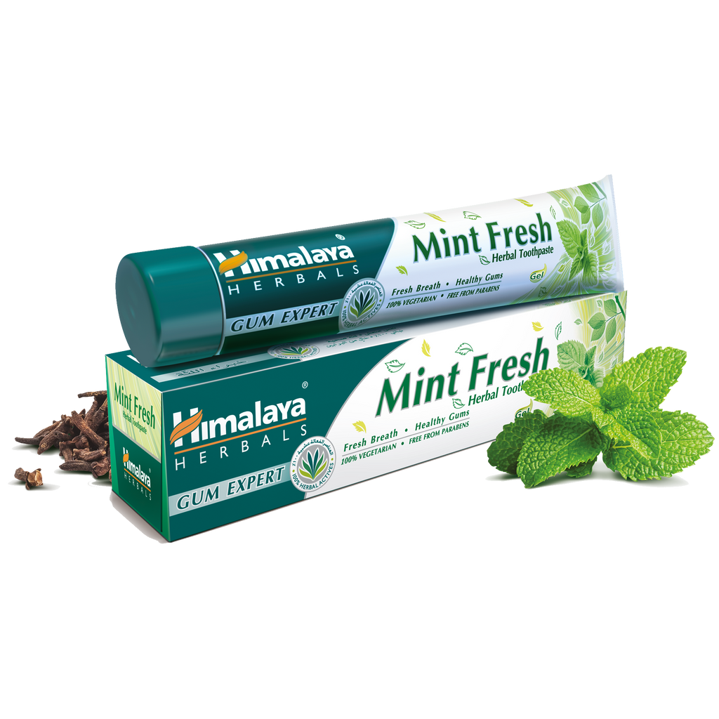 Himalaya Mint Fresh Toothpaste 100ml -12-hour Protection from Germs