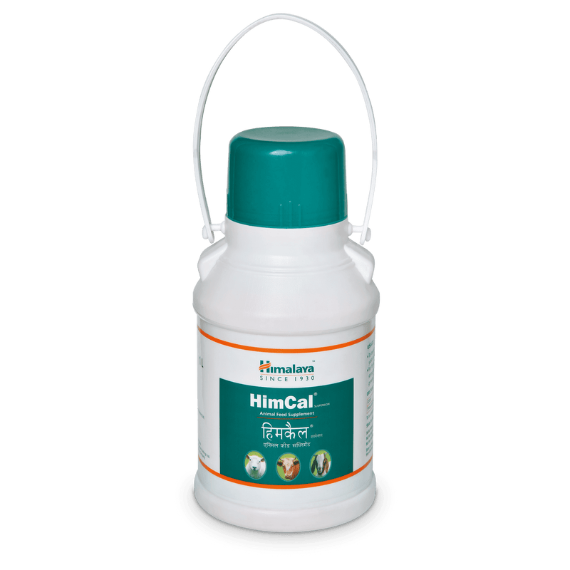 Himalaya HimCal - Calcium & Phosphorus Feed Supplement for Cattles