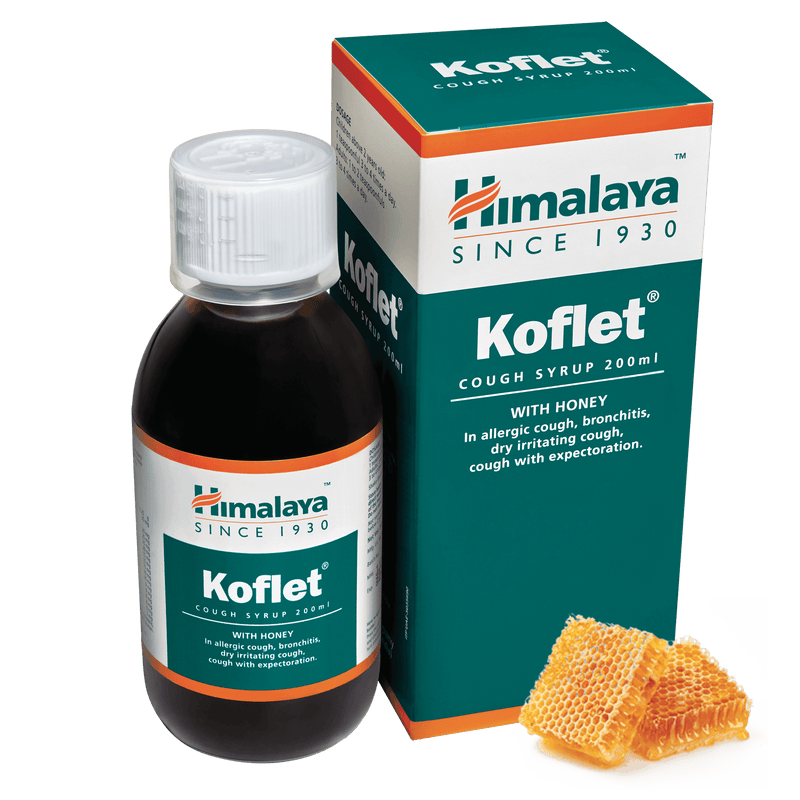 Himalaya Koflet Syrup 200ml - Cough Reliever