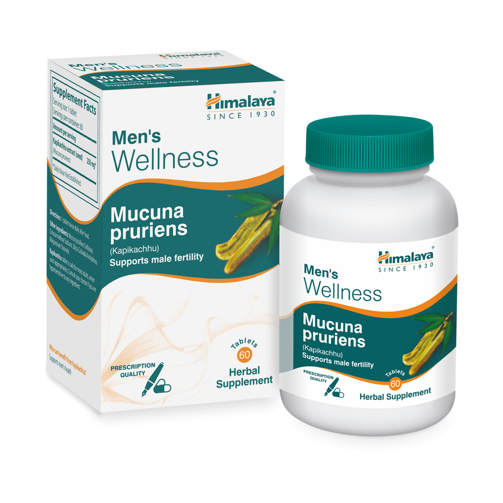 Himalaya Mucuna Pruriens Tablets 60's - Supports Male Fertility