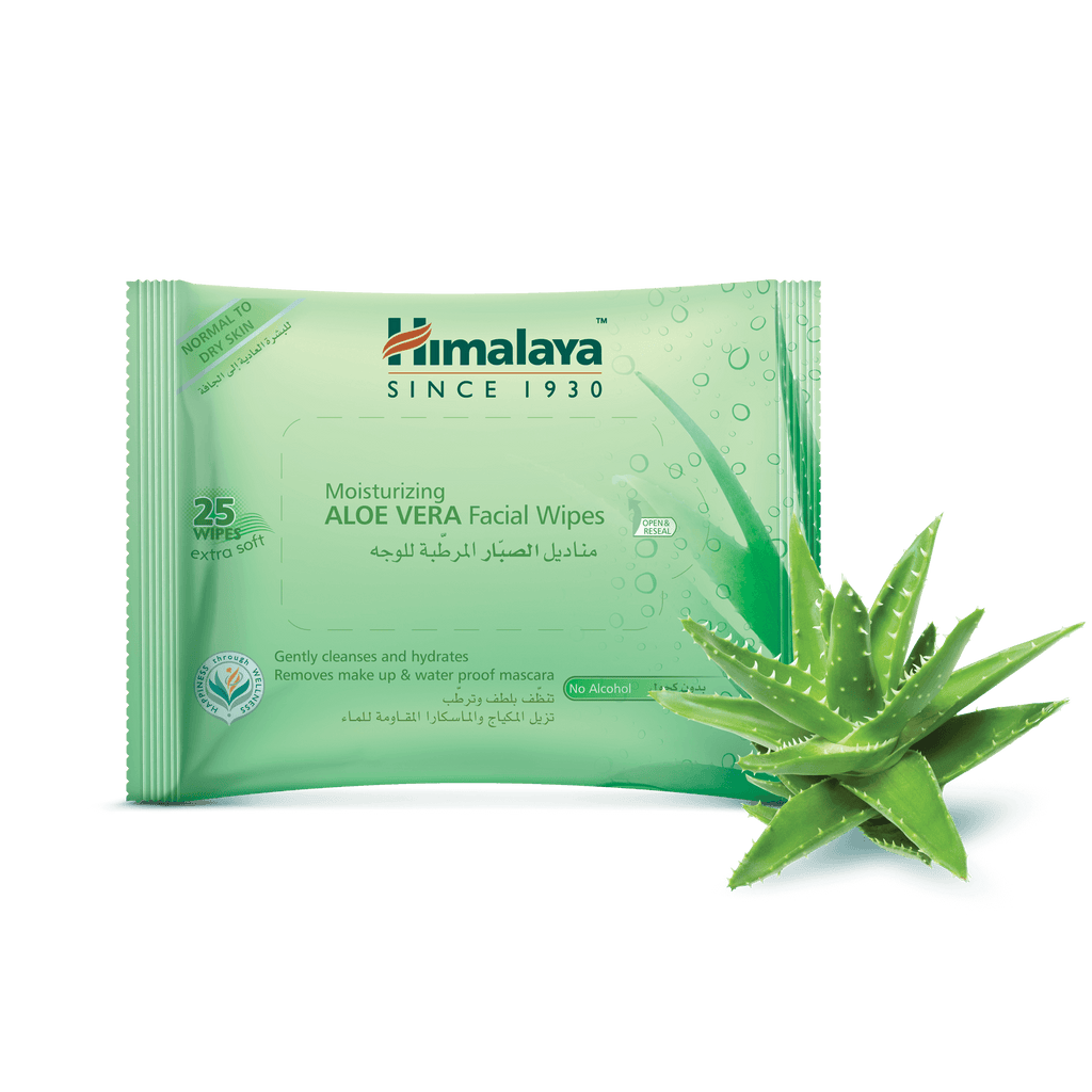 Himalaya Moisturizing Aloe Vera Facial Wipes