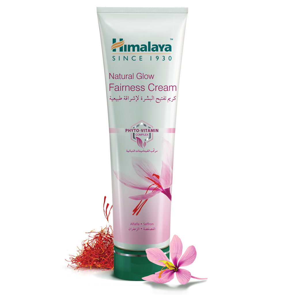 Himalaya Natural Glow Fairness Cream 25gm - Lightens & Evens Skin Tone