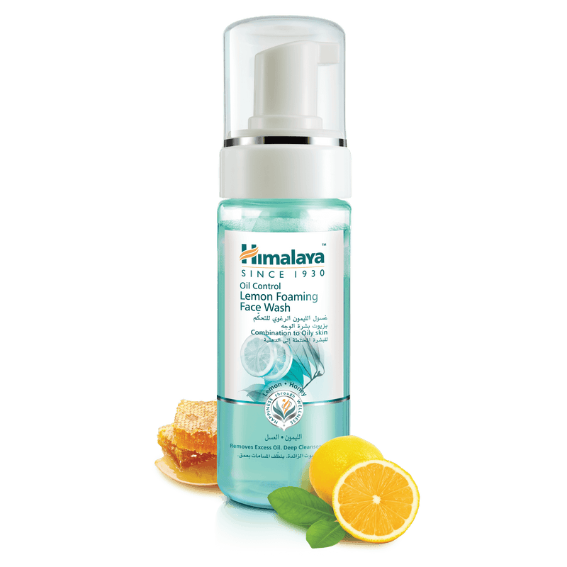Himalaya Oil Control Lemon Foaming Facewash 150ml - For Oil-free Skin