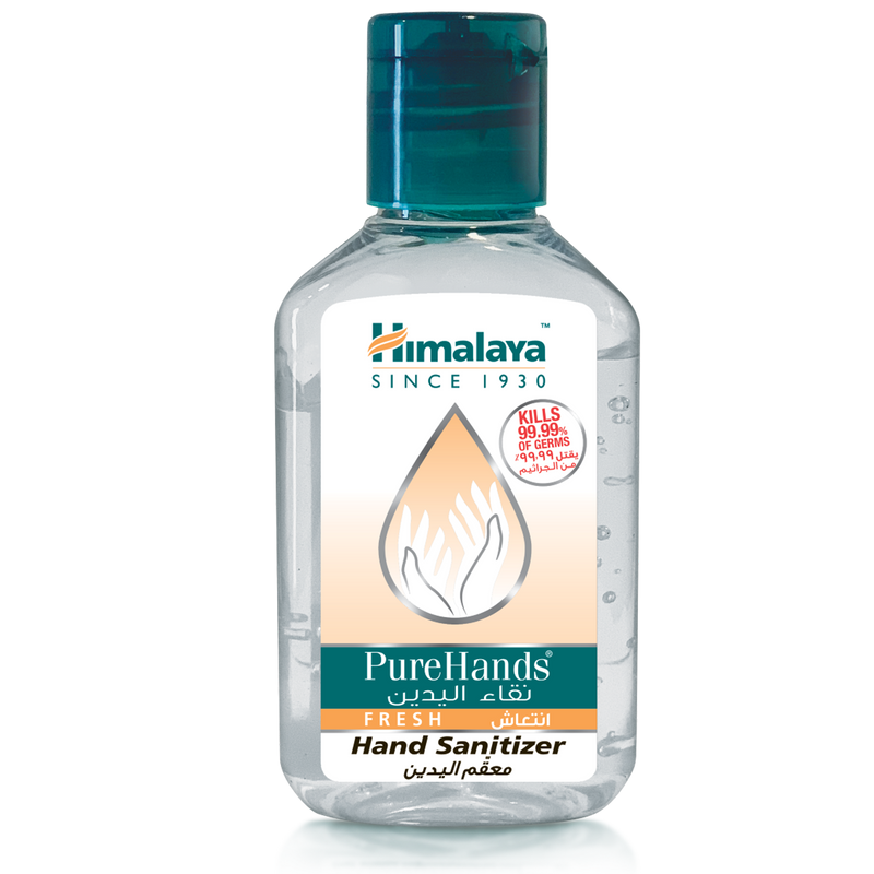 Himalaya Pure Hands Fresh Hand Sanitizer 50ml - Total Hand Hygiene