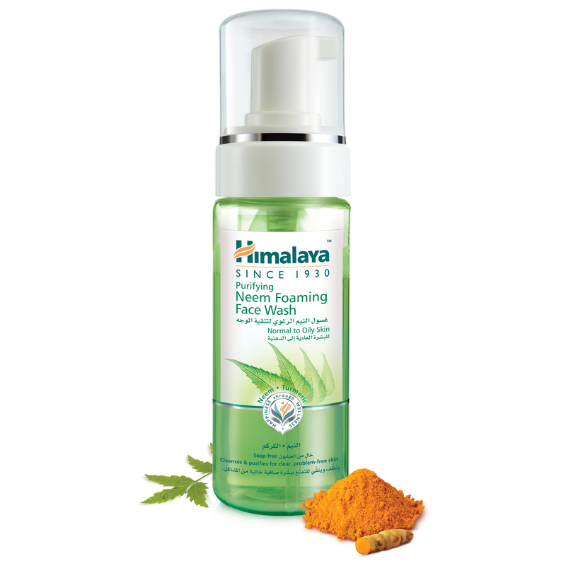 Himalaya Purifying Neem Foaming Face Wash 150ml - Removes Impurities
