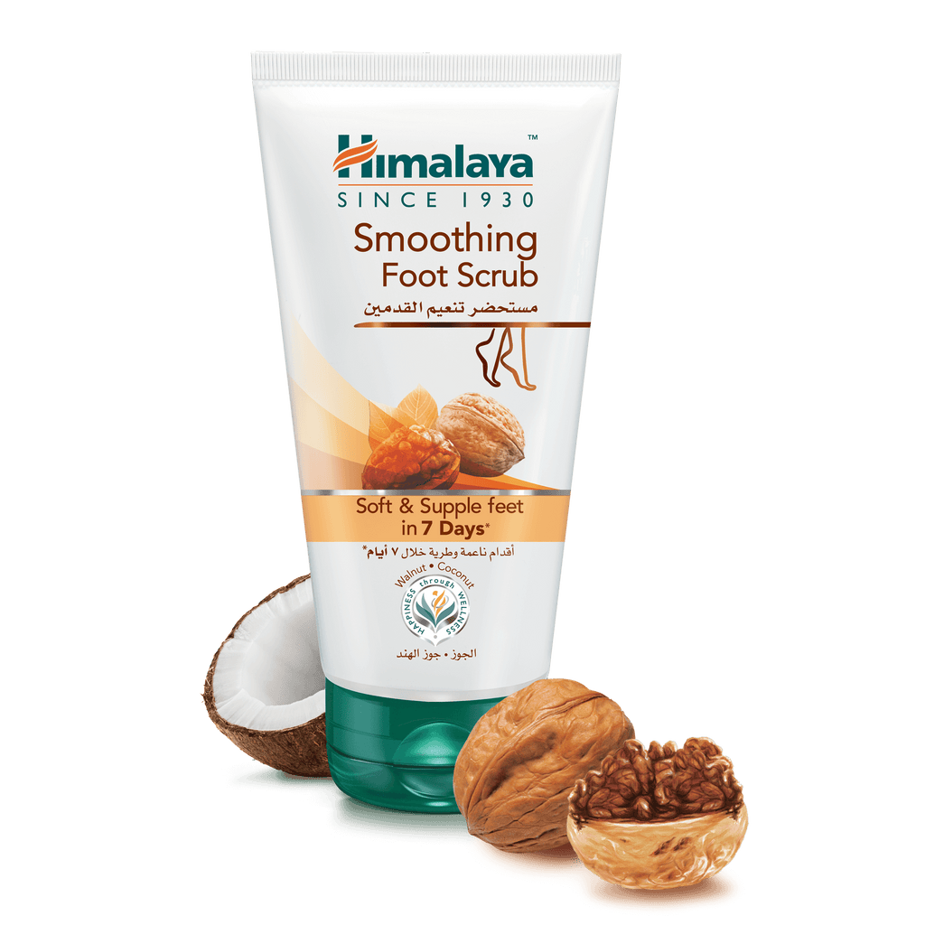 Himalaya Smoothing Foot Scrub 150ml - Soft & Supple Feet in 7 Days