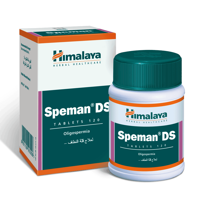 Himalaya Speman DS Tablets 120's - Supports Male Fertility