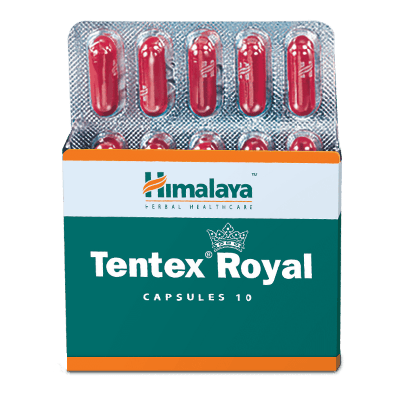 Himalaya Tentex Royal Capsules 10's - Manages Erectile Dysfunction