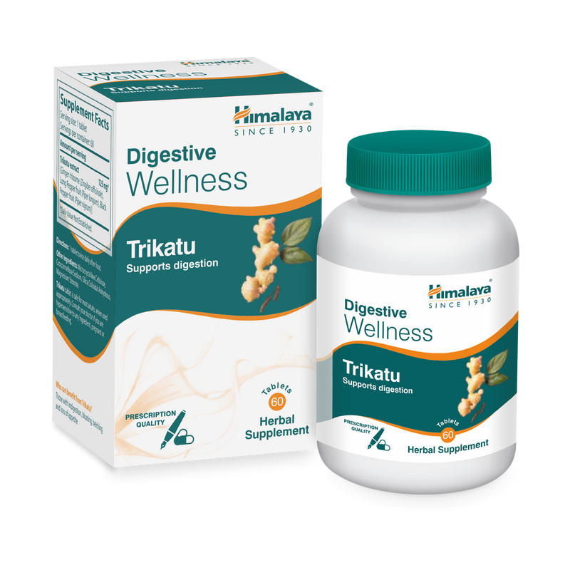 Himalaya Trikatu Tablets 60's - Supports Digestive Health