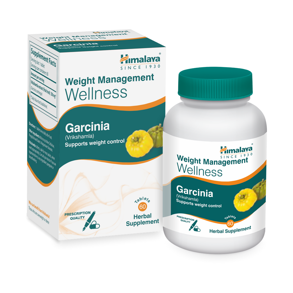 Himalaya Garcinia (Vrikshamla) Tablets 60's - Supports Weight Control