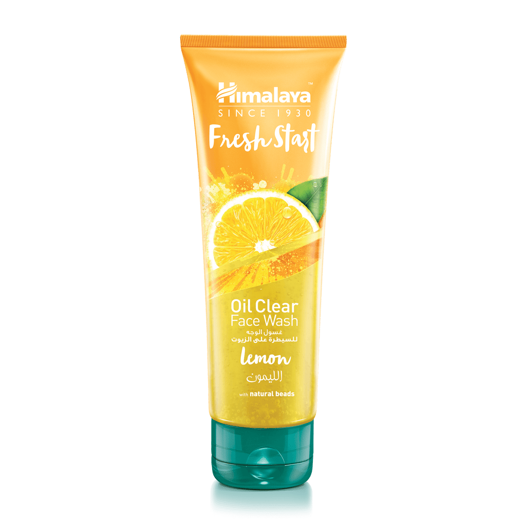 Himalaya Fresh Start Oil Clear Face Wash Lemon 100ml - For Oil-free Skin