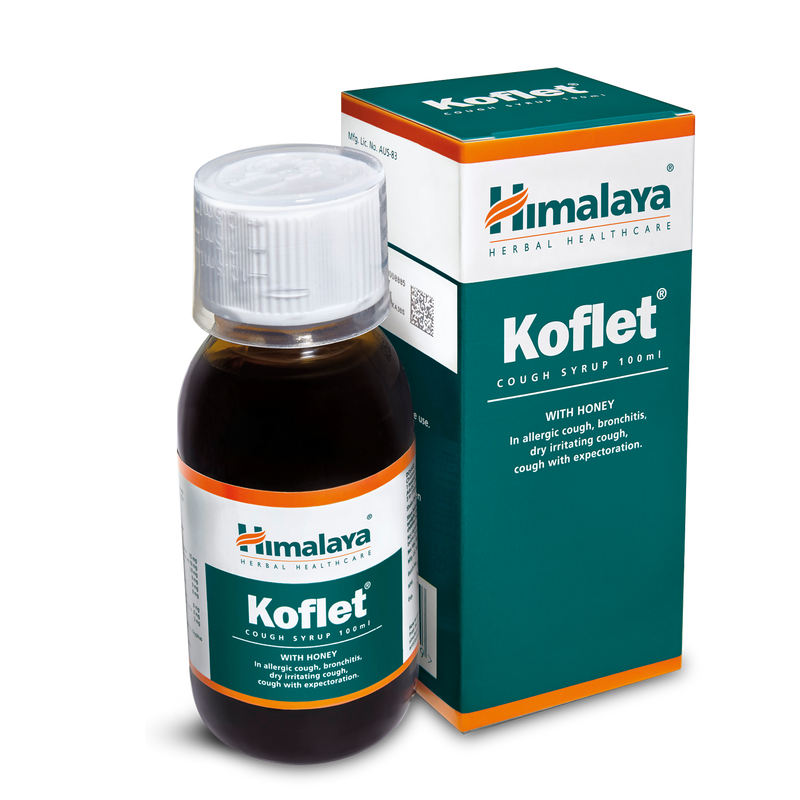Himalaya Koflet Syrup 100ml - The Cough Reliever
