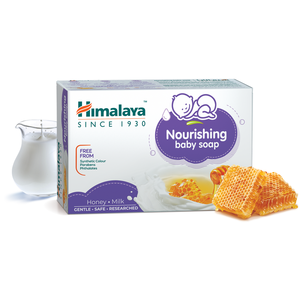 Himalaya Nourishing Baby Soap 125g - Gently Cleanses Baby's Skin