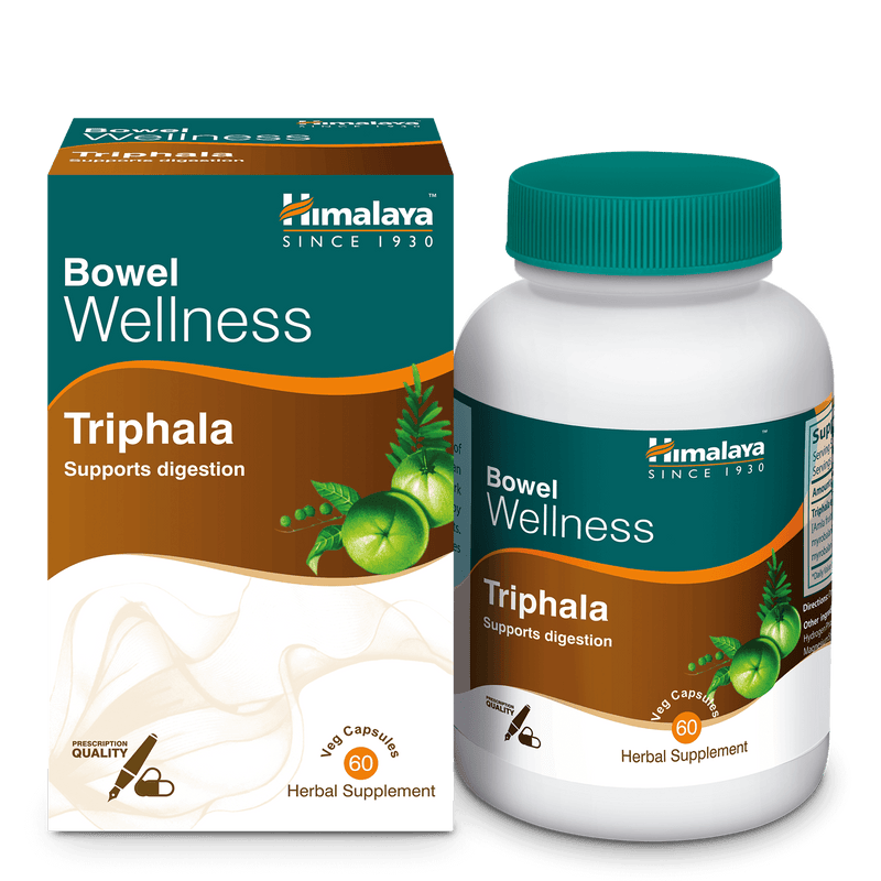 Himalaya Triphala Capsules 60's - Supports Digestion
