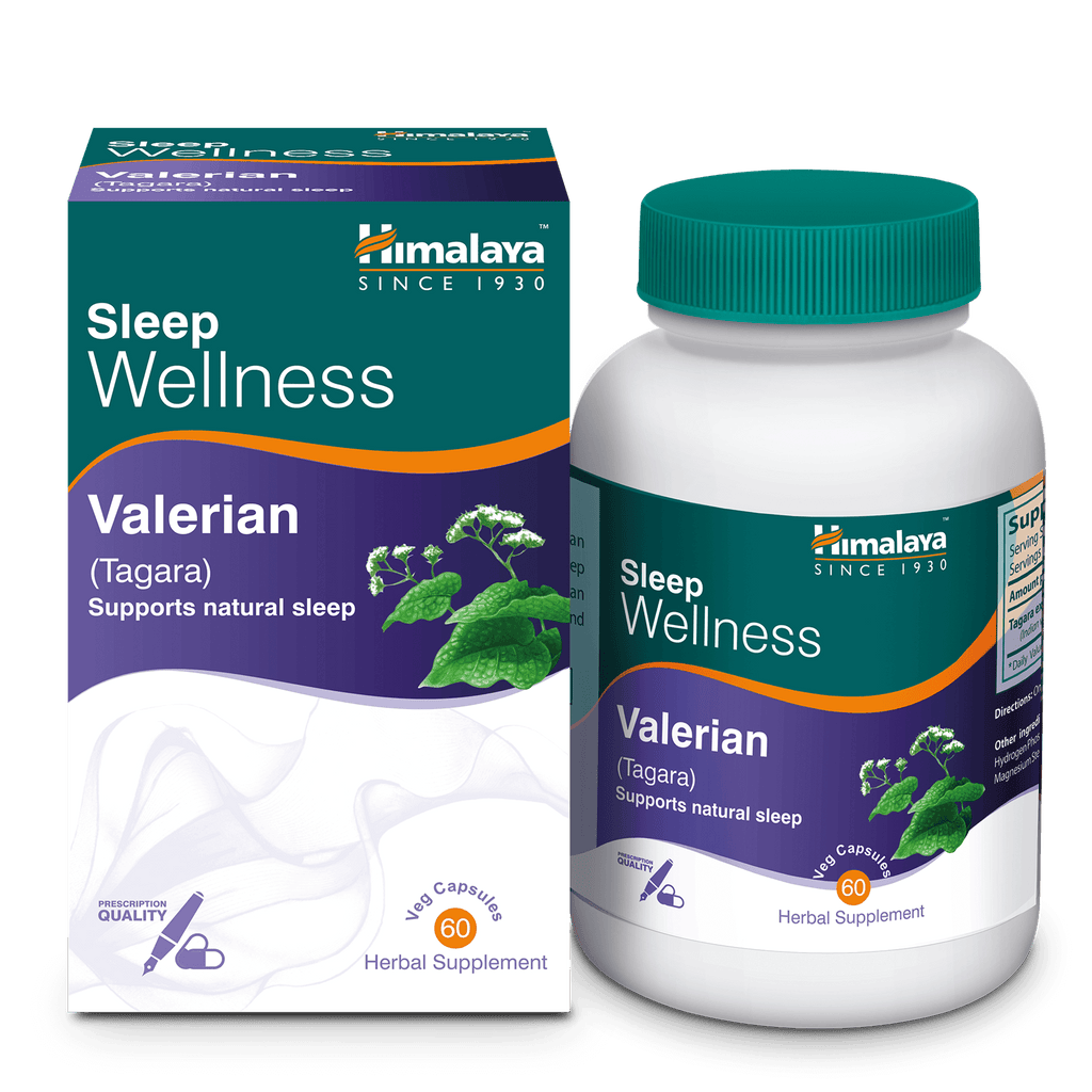 Himalaya Valerian (Tagara) Capsules 60's - For Improving Sleep Quality