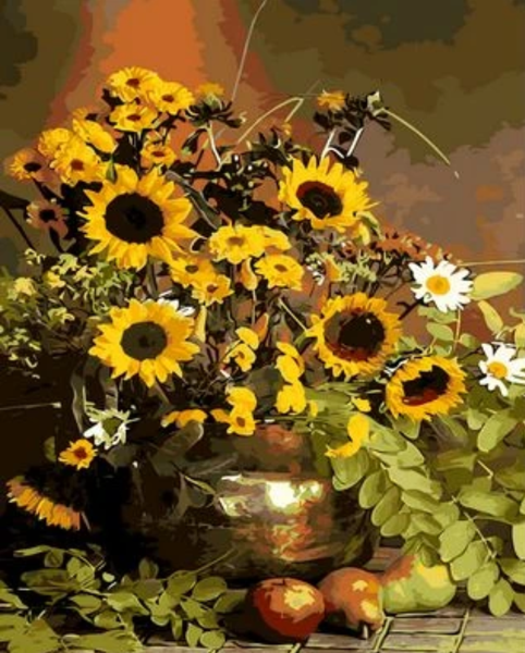 Sunflower  Diy Paint By Numbers Kits ZXQ1423
