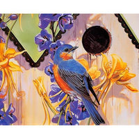 Colorful Bird Diy Paint By Numbers Kits PBN97910
