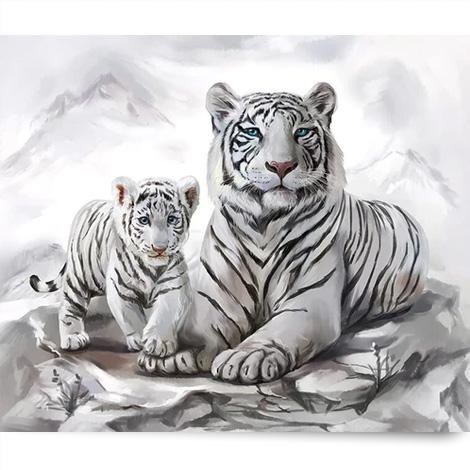 Animal Tiger Paint By Numbers Kits PBN90977