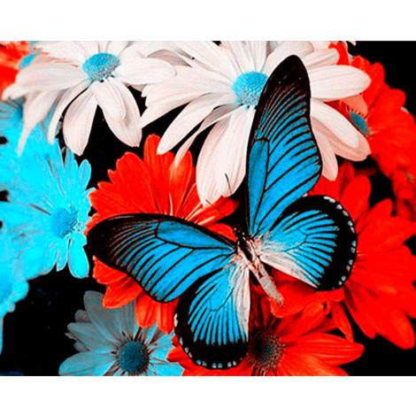 Butterfly Diy Paint By Numbers PBN90394