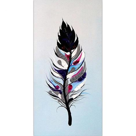 Feather Diy Paint By Numbers Kits PBN30145