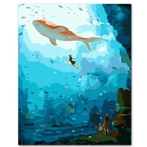 Fish Diy Paint By Numbers Kits YM-4050-293