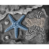 Starfish Diy Paint By Numbers Kits PBN30250