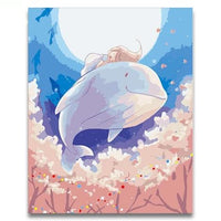 Whales Diy Paint By Numbers Kits PBN30003
