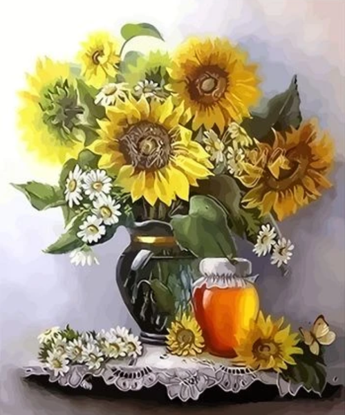 Sunflower  Diy Paint By Numbers Kits ZXQ2904