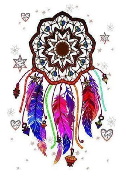 Dream Catcher Diy Paint By Numbers Kits PBN30157