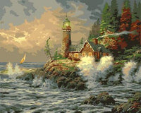 Lighthouse Diy Paint By Numbers Kits ZXB278