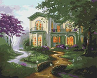 Landscape Cottage Diy Paint By Numbers Kits ZXB283-25