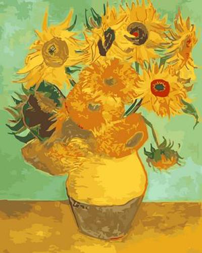 Sunflower Diy Paint By Numbers Kits ZXB332