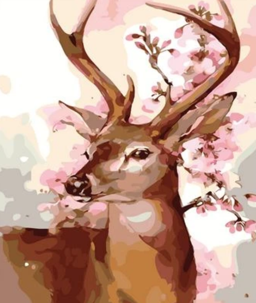 Animal Deer Diy Paint By Numbers Kits ZXZ-120