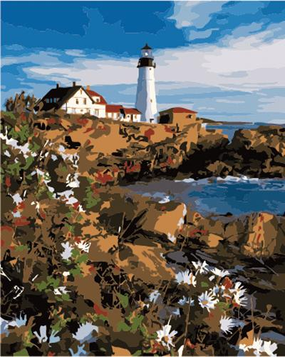 Lighthouse Diy Paint By Numbers Kits ZXB876