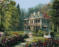 Landscape Cottage Diy Paint By Numbers Kits ZXB895