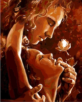 Lovers Portrait Diy Paint By Numbers Kits ZXQ1617-22