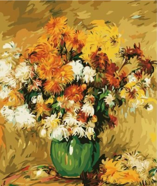 Sunflower  Diy Paint By Numbers Kits ZXZ099