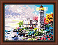Lighthouse Diy Paint By Numbers Kits ZXE047