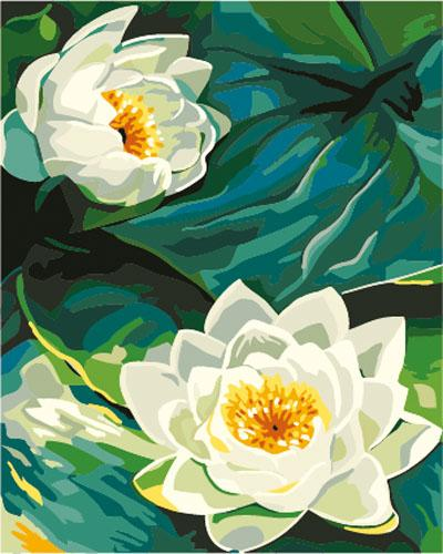 Lotus Diy Paint By Numbers Kits ZXE265