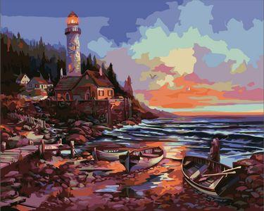 Lighthouse Diy Paint By Numbers Kits ZXE331