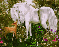Animal Horse Diy Paint By Numbers Kits ZXE407