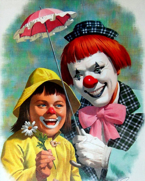 Clown Diy Paint By Numbers Kits VM90079