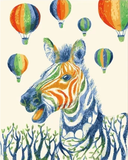 Zebra Diy Paint By Numbers Kits PBN30072