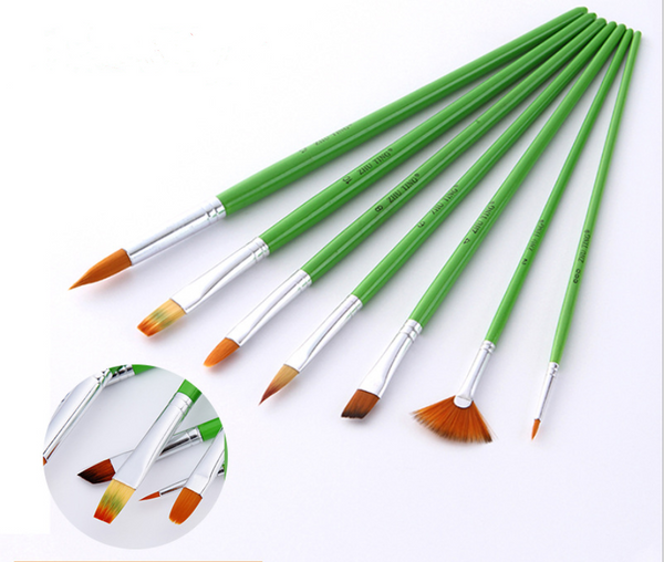 7x High Quality Paint Brushes Diy Paint By Numbers PB9002